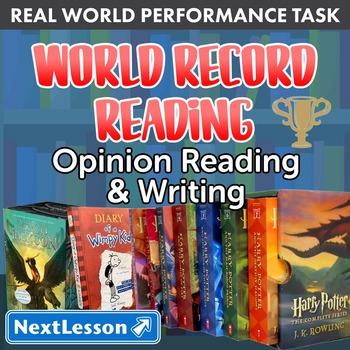 BUNDLE - Performance Tasks - Opinion Writing – World Recor