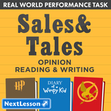 Bundle G5 Opinion Reading & Writing - 'Sales & Tales' Perf