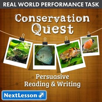 BUNDLE - Performance Tasks – Persuasive Writing – Conserva