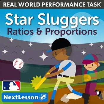 Bundle G7 Ratios & Proportions - Star Sluggers Performance Task