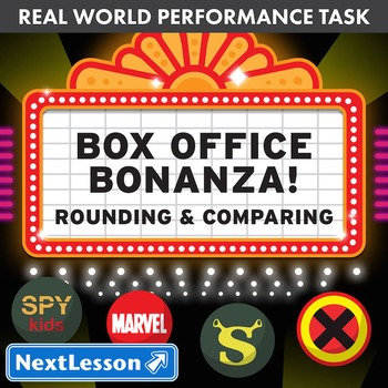 BUNDLE – Performance Tasks – Rounding & Comparing – Box Of