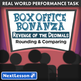BUNDLE – Performance Tasks – Rounding and Comparing – Box Office Bonanza