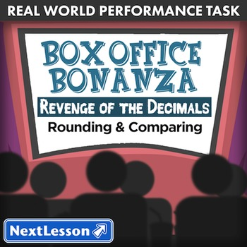 BUNDLE – Performance Tasks – Rounding and Comparing – Box Office Bonanza