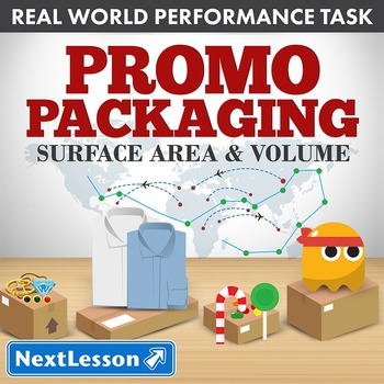 BUNDLE - Performance Tasks – Surface Area and Volume – Promo Packaging