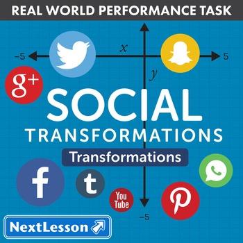 BUNDLE – Performance Tasks – Transformations – Social Tran