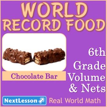 BUNDLE – Performance Tasks – Volume and Nets – World Record Food