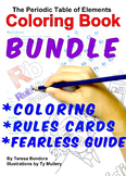 BUNDLE Periodic Table Coloring Book Rules Cards and Fearless Guide To The Table