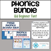 BUNDLE: Phonics Activity Pack Plus Posters Plus Word Wall