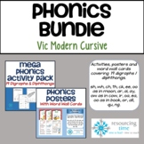 BUNDLE: Phonics Activity Pack + Posters + Word Wall Cards