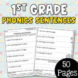First Grade Phonics Sentences