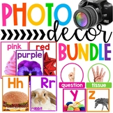 BUNDLE - Photo Classroom Theme Decor