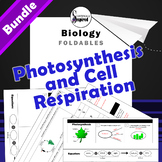 BUNDLE - Photosynthesis and Cell Respiration Foldables for