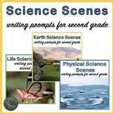 BUNDLE:  Physical, Earth, and Life Science Scenes Writing Prompts