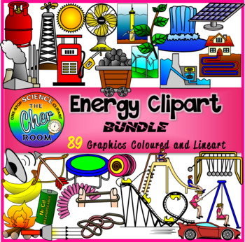 Physics Clipart (Elementary Standards)