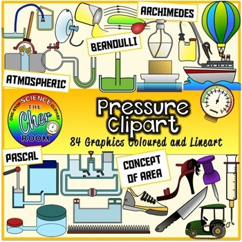 Physics Clipart (Secondary Standards)