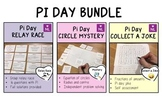 BUNDLE Pi Day Math Activities
