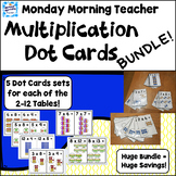 BUNDLE Picture This! Dot Card sets for Multiplication Numb
