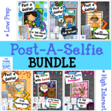Writing Activities ~ Post a Selfie! Thru the Year BUNDLE-Set 1