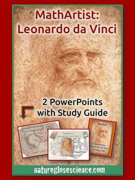 Leonardo da Vinci Part I and II - 2 PowerPoints & Activity Guide