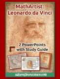 Leonardo da Vinci Part I and II - 2 PowerPoints & Activity Guide