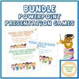 BUNDLE PowerPoint Games ELA/ESL English Grammar and Vocabulary Group Activities