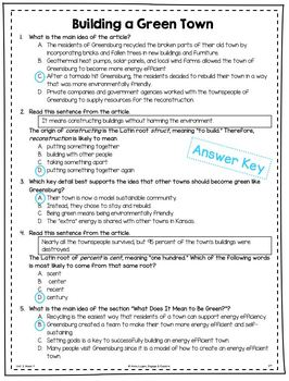 BUNDLE - Practice Questions for 5th Grade (Wonders, Units 1, 2, 3, & 4)
