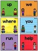 BUNDLE PreK (Dolch) Activity Sheets, PowerPoint and Flash Cards - 40 words