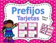 Prefijos Task Cards-&-Prefijos Popcorn Game-GRAMÁTICA-BUNDLE