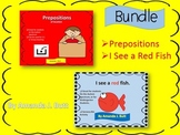 BUNDLE!!!  Prepositions; I See a Red Fish (colors); Autism; Special Needs