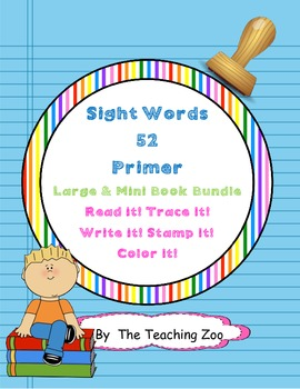 Primer Sight Word Work Mats & Books