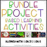 BUNDLE Project Based Learning Activity 1.OA.5 1.OA.6 1.MD.4 1.G.2