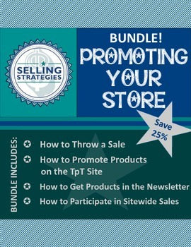 BUNDLE!  Promoting Your Store and Products