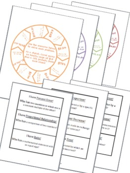 BUNDLE Proportional Reasoning Math Stations for Common Core Seventh Grade
