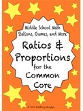 BUNDLE Ratios and Proportions Math Stations for Common Cor