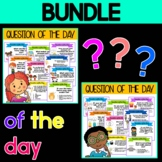 BUNDLE : Question of the Day - Set 1 & 2