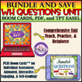 Digital Asking and Answering Questions BUNDLE - BOOM CARDS
