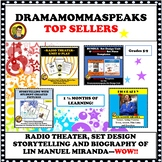 BUNDLE:  RADIO THEATER, SET DESIGN, STORYTELLING & LIN MANUEL MIRANDA