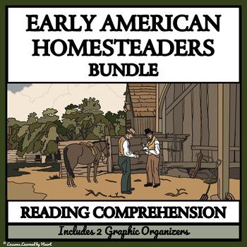 BUNDLE READING COMPREHENSION - Homesteaders, Emigrant Trai