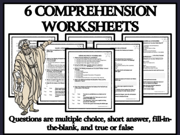 BUNDLE: Reading Comprehension - Medieval Astrologers and Astronomers