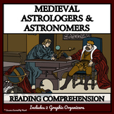MEDIEVAL ASTROLOGERS & ASTRONOMERS Printable Reading Passages & Comprehension