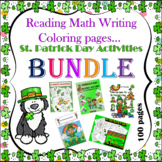 50% OFF-ST.PATRICK DAY ACTIVITIES 100 PAGES - BUNDLE(PAY 2