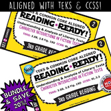 BUNDLE ~ READING READY 3rd Grade Task Cards – Character Interactions