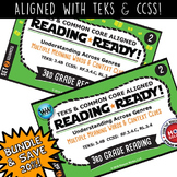 BUNDLE~READING READY 3rd Grade Task Cards–Multiple-Meaning Words & Context Clues