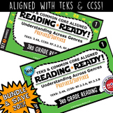 BUNDLE ~ READING READY 3rd Grade Task Cards – Prefixes & Suffixes {TEKS-aligned}