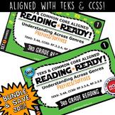 BUNDLE ~ READING READY 3rd Grade Task Cards – Prefixes & S
