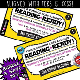 BUNDLE~ READING READY 3rd Grade Task Cards: Sequencing & S