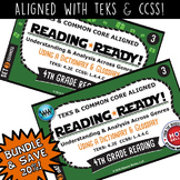 BUNDLE ~ READING READY 4th Grade Task Cards – Using a Dictionary & Glossary