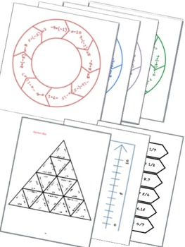 BUNDLE Rational Numbers Math Stations for Common Core Seventh Grade