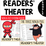 BUNDLE- 2 Readers' Theater Scripts: The Three Ninja Pigs &