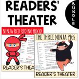 BUNDLE- 2 Readers' Theater Scripts: The Three Ninja Pigs &